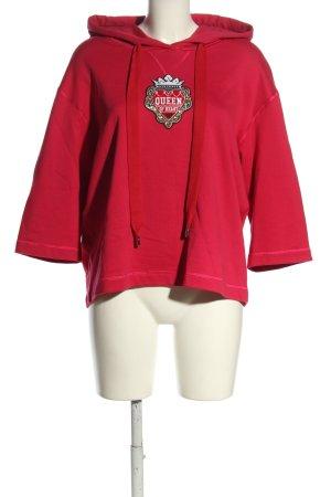 Dolce & Gabbana Hooded Sweatshirt pink casual look