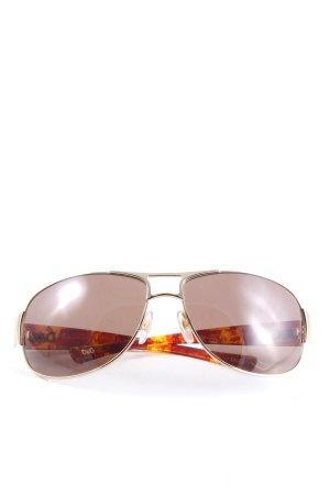 Dolce & Gabbana Karée Brille Farbverlauf Casual-Look