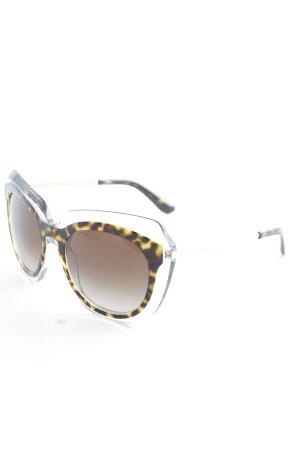 Dolce & Gabbana Occhiale squadrato nero-sabbia Acetato