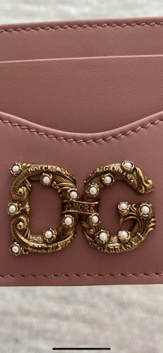 Dolce & Gabbana Card Case rose-gold-coloured