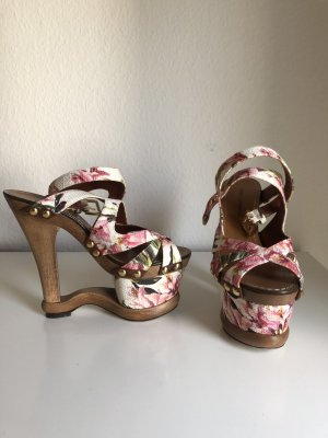Dolce Gabbana Keilabsatz Sandalen