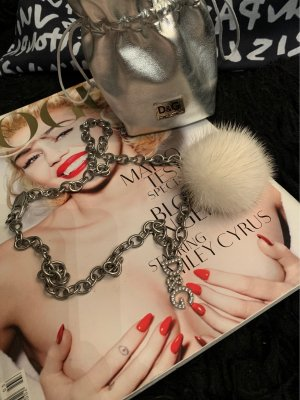 Dolce & Gabbana Collana dichiarazione argento-bianco sporco