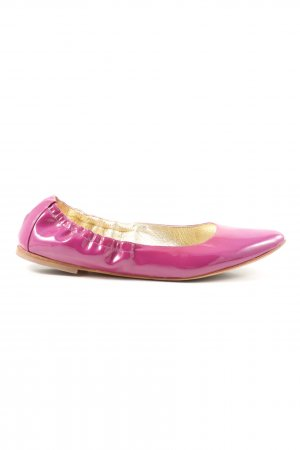 Dolce & Gabbana faltbare Ballerinas pink Casual-Look