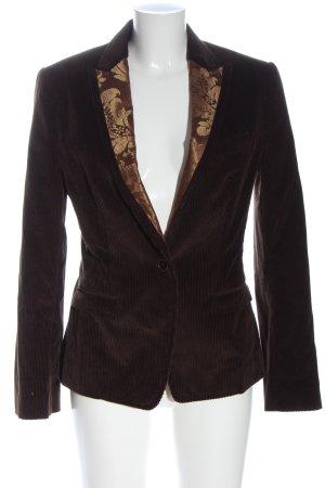 Dolce & Gabbana Klassischer Blazer bruin abstract patroon casual uitstraling