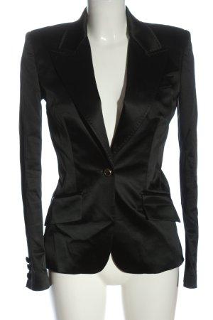 Dolce & Gabbana Klassischer Blazer khaki gestippeld casual uitstraling