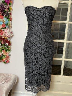 Dolce & Gabbana Kleid anthrazit Gr. D 36 / IT 40