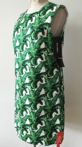 Dolce & Gabbana Suknia balowa biały-zielony Bawełna