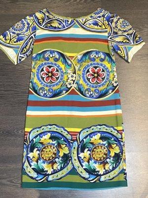 Dolce & Gabbana Kleid bunt Gr. IT 40