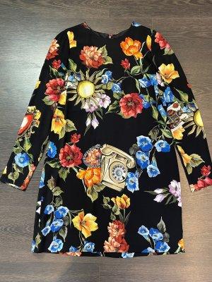 Dolce & Gabbana Vestido ceñido de tubo multicolor