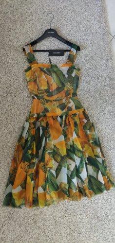 Dolce & Gabbana Sukienka midi jasnoczerwony-oliwkowy
