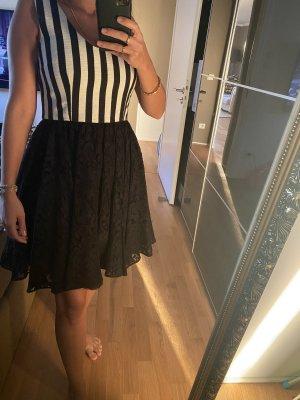 Dolce&Gabbana Kleid spitze schwarz weiß M 38