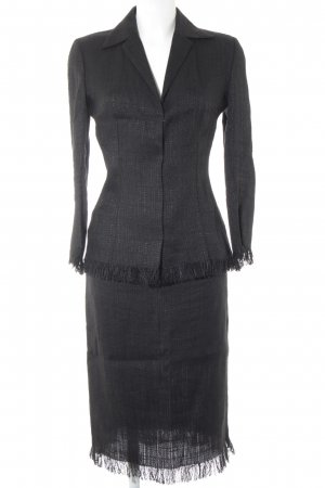Dolce & Gabbana Kostüm schwarz Business-Look