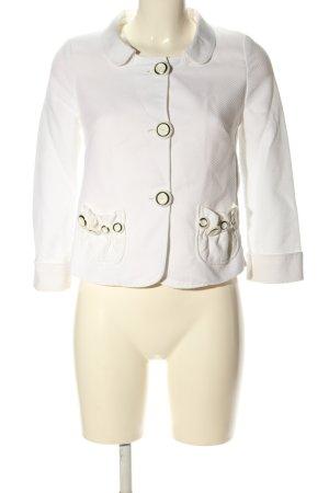 Dolce & Gabbana Kurz-Blazer weiß Business-Look
