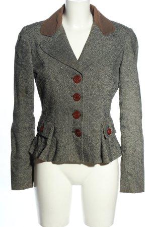 Dolce & Gabbana Kurz-Blazer hellgrau Casual-Look