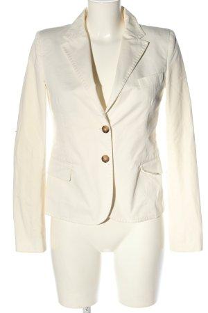 Dolce & Gabbana Korte blazer wit zakelijke stijl