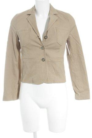 Dolce & Gabbana Korte blazer beige klassieke stijl
