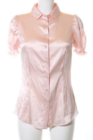Dolce & Gabbana Kurzarm-Bluse nude Elegant