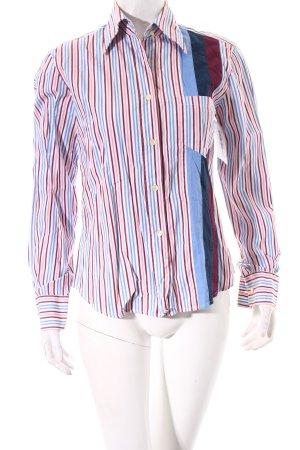 Dolce & Gabbana Langarm-Bluse Streifenmuster Casual-Look