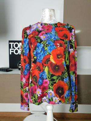 Dolce & Gabbana Langarm Seidenbluse gr.S