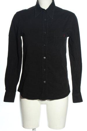 Dolce & Gabbana Chemise à manches longues noir style décontracté