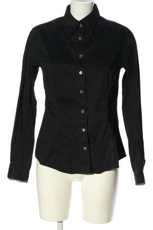 Dolce & Gabbana Camisa de manga larga negro look casual