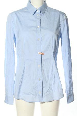 Dolce & Gabbana Camicia a maniche lunghe blu stile professionale