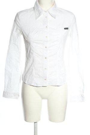 Dolce & Gabbana Chemise à manches longues blanc style décontracté