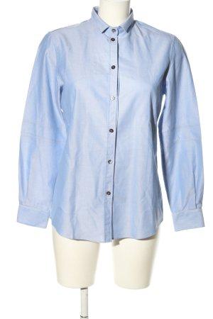Dolce & Gabbana Langarmhemd blau meliert Elegant