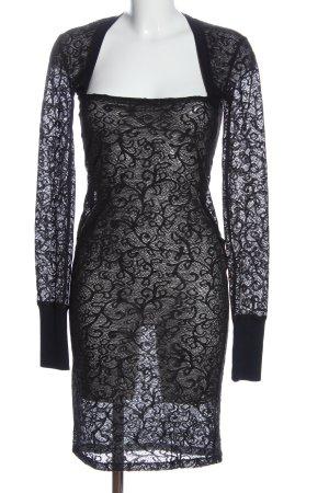Dolce & Gabbana Vestido de manga larga negro look casual