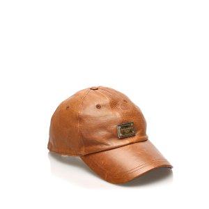 Dolce&Gabbana Leather Baseball Cap