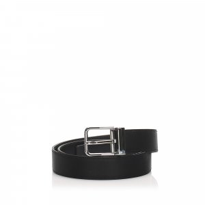 Dolce & Gabbana Belt black leather