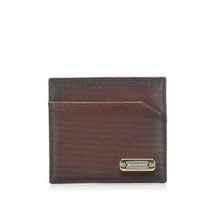 Dolce & Gabbana Custodie portacarte marrone Pelle