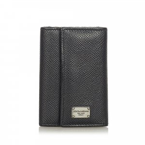 Dolce&Gabbana Leather Key Holder