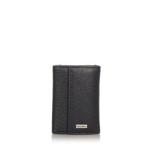 Dolce & Gabbana Key Case black leather
