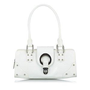 Dolce & Gabbana Shoulder Bag white leather