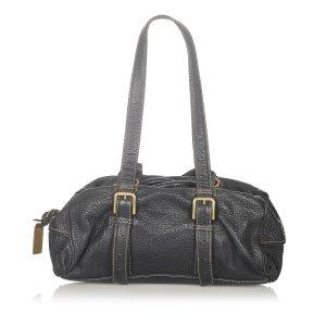 Dolce & Gabbana Shoulder Bag black leather