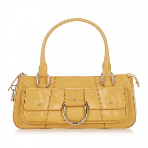 Dolce & Gabbana Shoulder Bag yellow leather