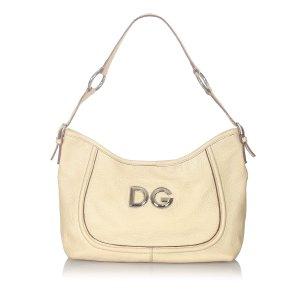 Dolce & Gabbana Shoulder Bag beige leather