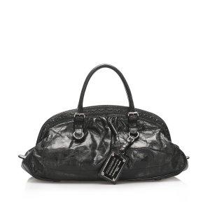 Dolce & Gabbana Borsa da viaggio nero Pelle