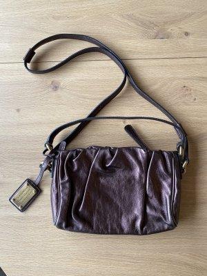 Dolce & Gabbana Clutch dark brown leather