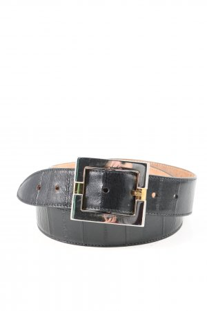 Dolce & Gabbana Faux Leather Belt blue casual look