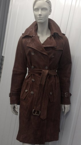DOLCE&GABBANA LEDERMANTEL / TRENCH