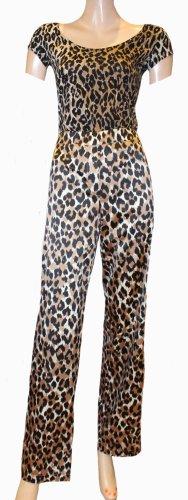 Dolce & Gabbana Pantalone elasticizzato marrone-nero Poliestere