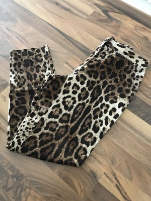 Dolce & Gabbana Leoparden-Print Hose