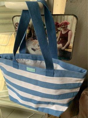 Dolce & Gabbana Canvas Bag white-cornflower blue
