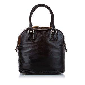 Dolce & Gabbana Sac fourre-tout noir cuir