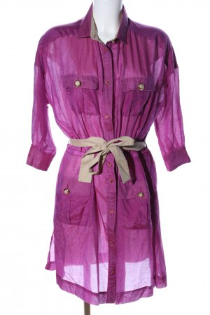 Dolce & Gabbana Long-Bluse pink Casual-Look