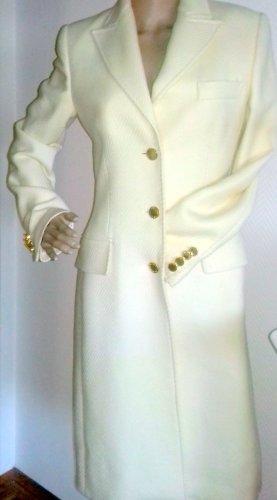 Dolce & Gabbana Cappotto in lana bianco sporco Lana vergine