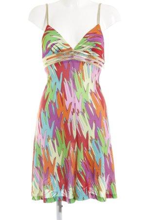 Dolce & Gabbana Midikleid mehrfarbig Elegant