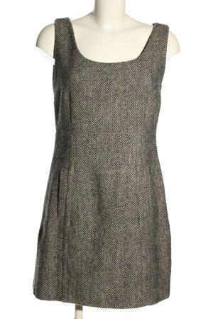 Dolce & Gabbana Robe fourreau gris clair moucheté élégant